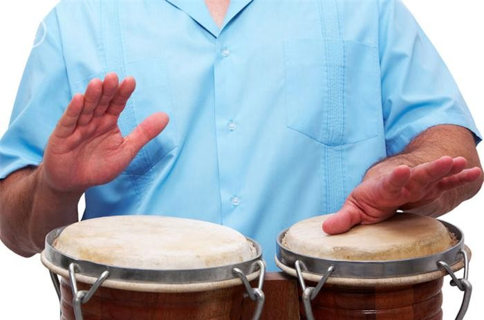 learning bongos