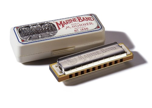 hohner marine band box and harp