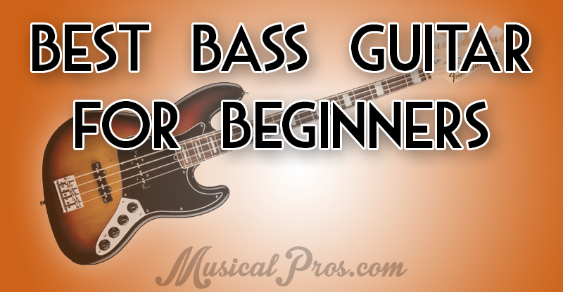 best bass guitar for beginners