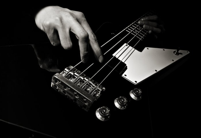 bass guitar fingers