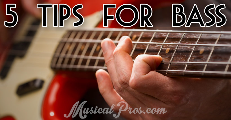 5 tips for bass guitar