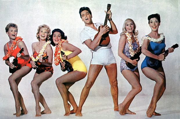 Elvis Ukulele Party