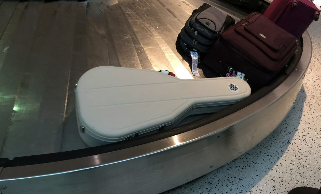 guitar checked baggage
