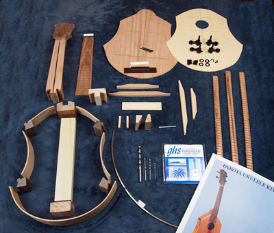 diy concert ukulele kit
