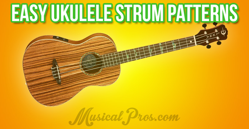 easy ukulele strum patterns
