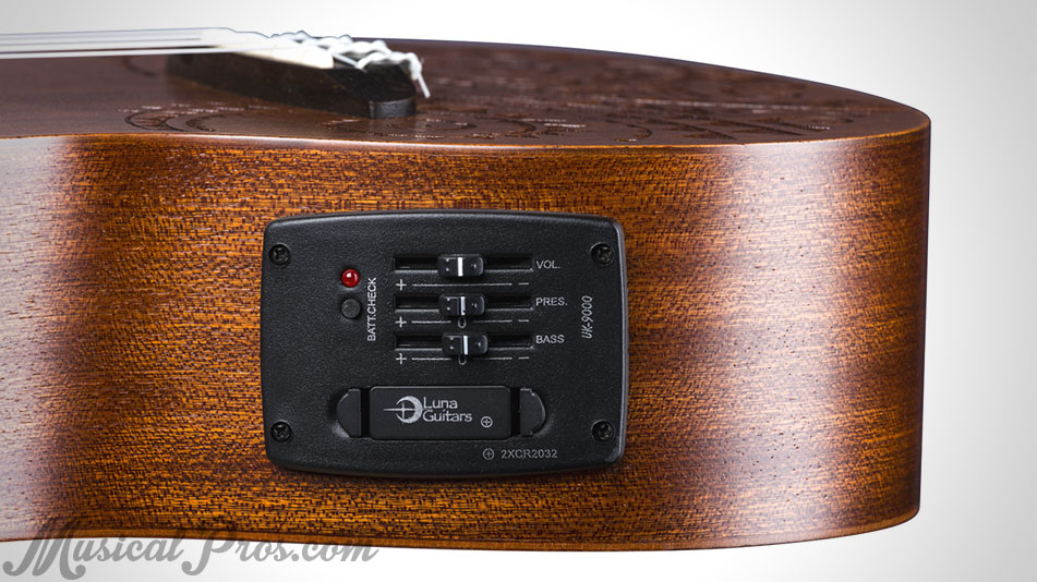 luna ukulele electric pickup