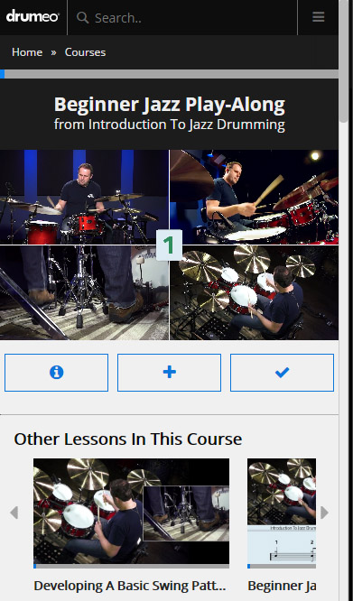 drumeo edge mobile