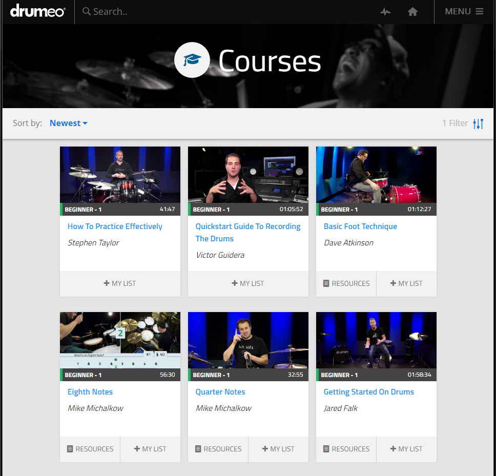 drumeo review courses