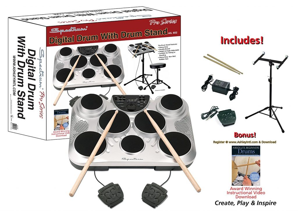 spectrum ail portable drum kit